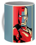 Iron Man Coffee Mug by Caio Caldas