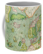 Old Map Coffee Mug