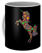 Rainbow Spiral Star Unicorn Design Poop Emoji Coffee Mug
