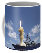 The Guided-missile Destroyer Uss Coffee Mug