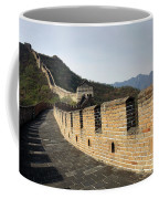 The Mutianyu Section Of The Great Wall Of China, Mutianyu Valley Coffee Mug