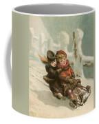 Vintage Christmas Card Coffee Mug