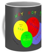 1042  So Why Not 2018 Coffee Mug