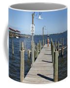 Indian River Lagoon At Eau Gallie In Florida Usa Coffee Mug