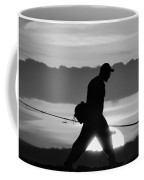 11-2-17--3904 Black And White, Don't Drop The Crystal Ball Coffee Mug
