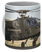 Ah-64d Apache Longbow Taxiing Coffee Mug