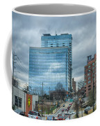 Atlanta Downtown Skyline Scenes In January On Cloudy Day Coffee Mug