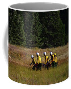 Climber Rescue Operation In Yosemite Coffee Mug