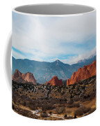 Garden Of The Gods And Pikes Peak Coffee Mug