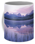 Reflection Of Mountains In A Lake Coffee Mug