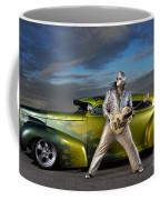 Silver Elvis Coffee Mug