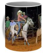 Steer Roping Coffee Mug