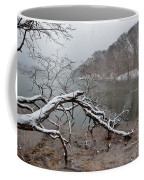 The Bass River In Winter Coffee Mug