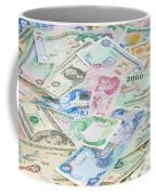 Travel Money - World Economy Coffee Mug