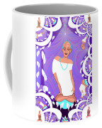 1103  Yoga Lady Fractal 2017 Coffee Mug