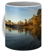 Autumn Beach - The Splendor Of Fall On The Shores Of Lake Ontario Coffee Mug