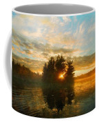 Nature Art Original Landscape Paintings Coffee Mug