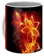 112775 Flowers Fire Coffee Mug