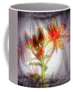 11305 Flower Abstract Series 03 #5 Coffee Mug