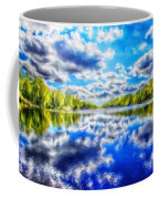 Nature Art Landscape Canvas Art Paintings Oil Coffee Mug