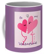 1198  Be My Valentine V Coffee Mug