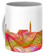 Cheyenne Wyoming Skyline Coffee Mug