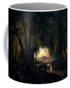 Forest Path Near Spandau Coffee Mug