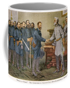 Lees Surrender 1865 Coffee Mug by Granger