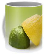 12 Organic Lemon And 12 Lime Coffee Mug