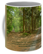 12- The Road Not Taken Coffee Mug
