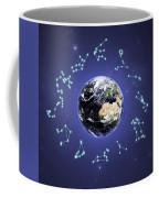 12 Zodiac Constellations Coffee Mug
