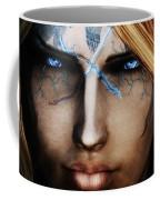 120941 The Elder Scrolls V Skyrim Wizard Blue Eyes Coffee Mug