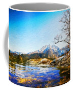 Nature Landscape Graphics Coffee Mug