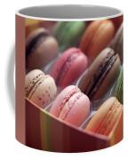 French Macaron Rainbow Coffee Mug