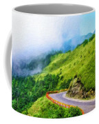 Nature Landscape Oil Painting On Canvas Coffee Mug