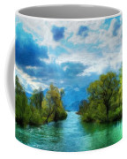 Nature Oil Painting Landscape Images Coffee Mug