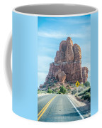 Arches National Park  Moab  Utah  Usa Coffee Mug