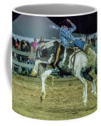 Bronco Riding Coffee Mug