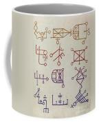Cabbalistic Signs And Sigils, 18th Coffee Mug