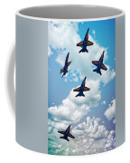Navy Blue Angels Coffee Mug
