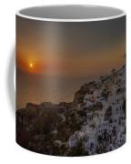 Oia - Santorini Coffee Mug by Joana Kruse