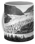 Panoramic View Of Mendenhall Glacier Juneau Alaska Coffee Mug