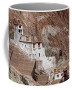 Ruins At Basgo Monastery Coffee Mug