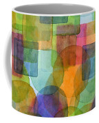 Befriended Squares And Bubbles Coffee Mug