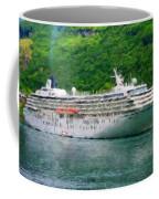 Landscape Painted Coffee Mug