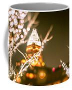 Christmas Lights Holiday Decorations Around Charlotte North Caro Coffee Mug