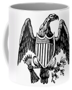 Eagle, 19th Century Coffee Mug