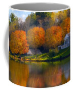 Framed Landscape Art Coffee Mug