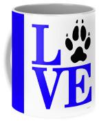 Love Claw Paw Sign Coffee Mug