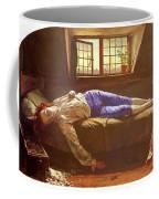 Wallis Henry The Death Of Chatterton Henry Wallis Coffee Mug